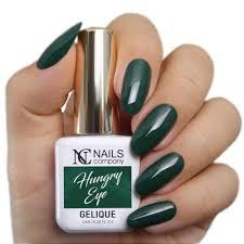 Hungry Eye Reka Zdjecie Zielonej Stylizacji Paznokci Nails Company
