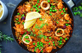 Healthy Chicken And Seafood Paella ...