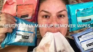 neutrogena new make up removing wipe