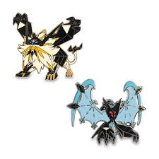 Pokemon Center Original Metal Charm Dusk Mane and Dawn Wings Necrozma Sun  Moon fifasteluce.com