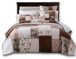 bohemian patchwork dusty rose pink