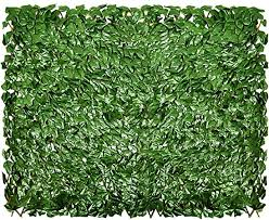 Amazon Com Sunnyroyal Artificial Leaf Faux Ivy Expandable Stretchable Outdoor Privacy Fence Screen For Balcony Patio Decoration Fencing Panel Single Sided Leaves Ivy 1 Piece Garden Outdoor
