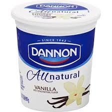 natural low fat yogurt vanilla