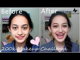 200k 20 makeup challenge mini