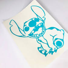 Disney Other 525stitch Car Decal Lilo And Stitch Vinyl Poshmark