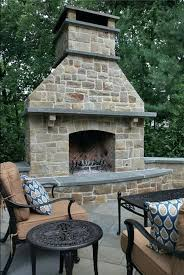 free standing outdoor gas fireplace