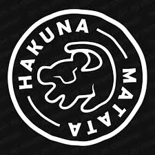 Hakuna Matata Simba Vinyl Decal Disney Car Decals Disney Decals Hakuna