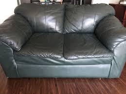 green leather loveseat in dallas tx