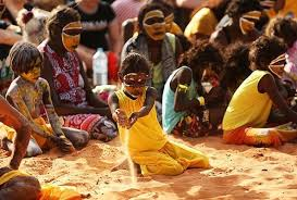 traditional aboriginal ceremonial dancing