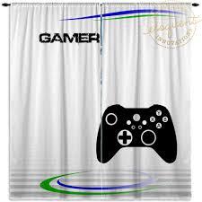 Gamer Bedroom Gaming Gamer Room Curtains Window Curtains Boys Bedroom Curtains 410 Eloquent Innovations