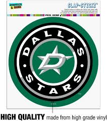 Amazon Com Graphics And More Nhl Dallas Stars Logo Automotive Car Window Locker Circle Bumper Sticker Automotive