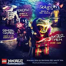 The Ninjago Villains are not easy to defeat! | Lego poster, Ninjago games,  Ninjago