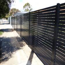 China Horizontal Aluminium Slat Fence Garden Fence Aluminum Slats Fence Panel Fence China Fencing Garden Fence