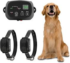Ttpet Electric Dog Fence In Ground Aboveground Pet Containment System Ip66 Waterproof Rechargeable Collar Shock Tone Correction For 2 Dogs Amazon Ca Pet Supplies