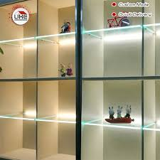 8mm glass shelf brackets light led