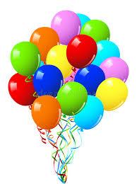 Balões Da Celebração Ou Da Festa De Anos Ilustração do Vetor - Ilustração  de verde, brilhante: 12445071