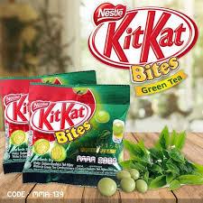 kit kat bites kitkat bites green tea