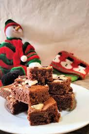 ghirardelli peppermint bark brownies