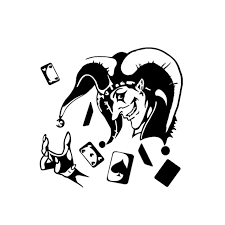 Yjzt 14 5 14 1cm Funny Skull Joker Card Poker Gambling Car Sticker Vinyl Decal C12 1258 Car Stickers Aliexpress