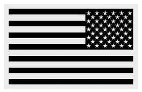 American Flag Black Reversed Small Reflective Helmet Decal Sticker 2 X 3 Ebay