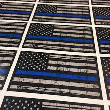 20 Pack 5 Thin Blue Line Sticker Thin Blue Line Flag Sticker Support Police American Flag Decal Car Sticker American Flag Decal