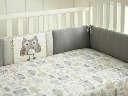 baby willow 4 piece crib per set grey