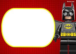 Free Printable Marvel S Lego Invitation