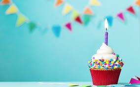 تحميل خلفيات عيد ميلاد سعيد كعكة شمعة تحترق 1 سنة عيد ميلاد