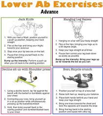 lower ab workout routine for men and women
