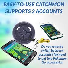 Amazon.com: MEGACOM Dual Catchmon Pokemon Go Plus Auto Catch ...