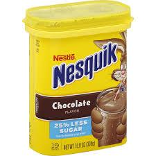 nestle nesquik chocolate flavored