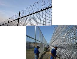 Razor Wire Fence For Sale Fence Security Blade Gill Net Razor Wire Fence Wholesaler