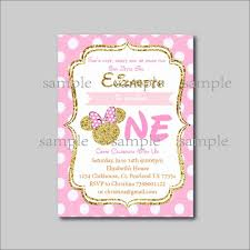 14 Unids Lote Invitacion De Cumpleanos Minnie Mouse Mickey Minnie