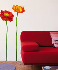 Nouvelles Images Red Poppies Wall Decal Set Best Price And Reviews Zulily