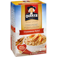 instant oatmeal cinnamon swirl
