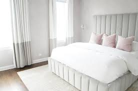 dove gray and blush pink bedroom colors