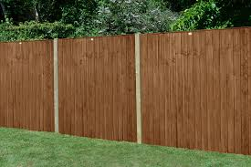 Fence Panels Garden Fencing 6ft X 5ft Pack Of 5 Vertical Lap Heavy Duty Brown Fence Panel Athena Com Pe