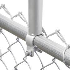 Extend Your Fence Chain Link Fence 24 Post Extension 1 3 8 1 3 8 Od Galvanized Steel Chain Link Fittings