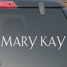 Amazon Com Mary Kay 12 X 2 4 White Not Printed Beauty Cosmetics Sexy Girl Car Window Audio Vinyl Decal Sticker Design 1 Everything Else