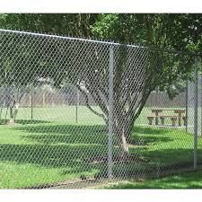 6 Ft H X 50 Ft L 9 Gauge Galvanized Steel Chain Link Fence Fabric In The Chain Link Fence Fabric Department At Lowes Com
