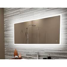 led backlit wall mirror 24 x 36