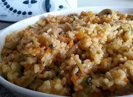 arroz de verduras con thermomix