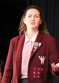 Abigail May is going to Gallipoli   Woodford House