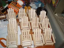 Chairs Fairy Furniture Fairy Garden Diy Craft Stick Crafts