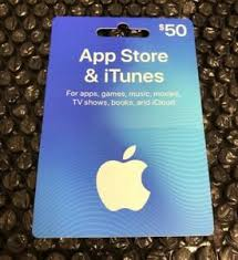 apple 50 us itunes gift card