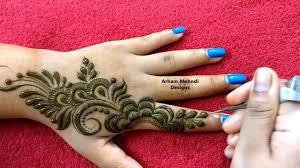 mehndi design on finger
