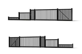 3d Wood Fence Model 6 Free Download