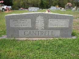 POWELL CANTRELL, ADDIE - Cross County, Arkansas | ADDIE POWELL CANTRELL -  Arkansas Gravestone Photos