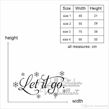 Let It Go Quote Wall Sticker Wall Stickers Bedroom Decor Quotes Wall Decal Stickers Home Decor Living Room Q333 Quotes Stickers For Walls Quotes Wall Stickers From Kathyatiwall 12 31 Dhgate Com