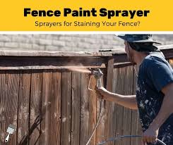 Top 5 Best Sprayers For Staining A Fence 2020 Review Pro Paint Corner